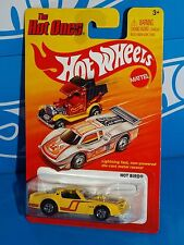 Hot Wheels 2012 The Hot Ones Series Hot Bird Pontiac Firebird Yellow w/ BWs
