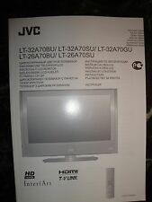 JVC TV Owners Manual in different slavic Languages