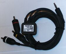 Nokia TV VIDEO CABLE CA 75U 6720 E6 E7 N79 N82 N85 N86 N95 N96 Works on iPhones