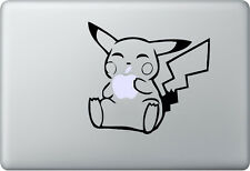 Apple MacBook Air Pro + PIKACHU + Aufkleber Sticker Decal Skin + Süss Sweet