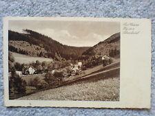 1 alte AK Niederschlesien, Bad Reinerz, Weg ins Schmelzetal gelaufen 1934