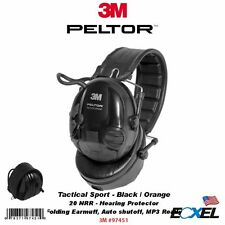3M Peltor 97451, Tactical Sport Hearing Protector, NRR: 20dB, Folding Earmuff