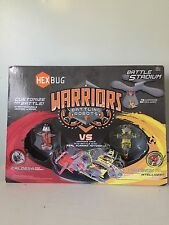 Hexbug Warriors Battle Stadium with Battling Robots CALDERA VS TRONIKON