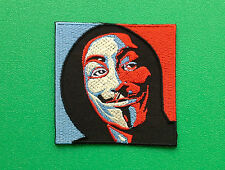 NOVELTY FANCY DRESS SEW ON / IRON ON PATCH:- ANONYMOUS (b) V FOR VENDETTA