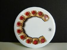 """CHANEL ROUGE COCO BADGE / PIN """" LIPSTICK C """" ~LIMITED EDITION~ #13"""