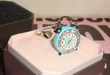 New Juicy Couture Alarm Clock Charm for Bracelet, Necklace Bag