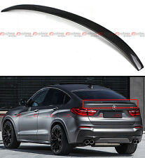 FOR 2015-17 BMW X4 F26 SUV PERFORMANCE STYLE CARBON FIBER TRUNK SPOILER WING LID