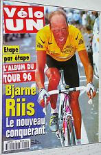 VELO UN CYCLISME ALBUM DU TOUR DE FRANCE  RIIS ULRICH VIRENQUE TELEKOM