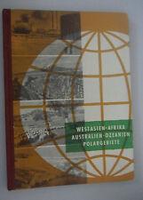 DDR Lehrbuch Klasse 8/Geographie=Erdkunde/Volk und Wissen 1960 Abbild.+Skizze