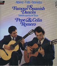 Pepe & Celin Romero Famous Spanish Dances Vinyl 33 LP Latin Music Album EX 1982