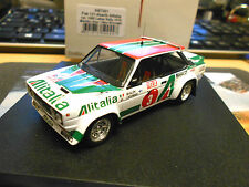 FIAT 131 Abarth Rallye WM 1000 Lakes 1978 Alen Winner Finland limit Trofeu 1:43