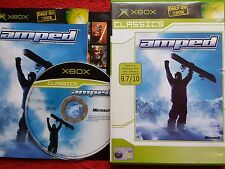 Amped freestyle snowboarding original black label MICROSOFT XBOX 3+ pal