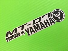 MT07 Power logo decal Sticker  for Track Bike or Toolbox PAIR ref #115