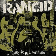 RANCID - HONOR IS ALL WE KNOW (LTD DELUXE EDITION) 2 VINYL LP + CD NEU