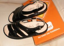 FINN COMFORT WOMENS  Sandals Finnamic 1579 Concord Black UK 40.  US sz.10