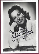 Maureen O'Hara, Actress, Signed & Inscribed Photo, COA, UACC RD 036