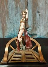 Star Wars UNLEASHED SLAVE LEIA Captive Princess Jabbas DISNEY BANNED Rare