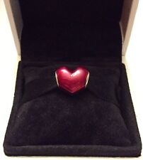 Authentic Pandora In My Heart Charm W/ Pandora TAG & BOX  #791814EN62
