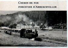 1972  --  CHEMIN DE FER FORESTIER D ABERSCHVILLER   3L571