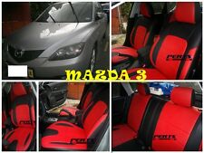 Mazda 3 High quality Factory Fit Customized Leather CAR SEAT COVER