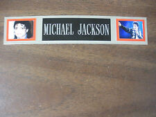 MICHAEL JACKSON NAMEPLATE FOR SIGNED PHOTO/RECORD/ALBUM