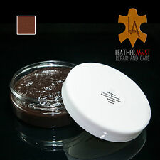 Amaretto Brown Leather Colour Restorer Balm MERCEDES A C E CLK SLK SEL AMG CLASS