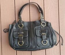 Tano Leather Black Sex Bomb Handbag Purse Bag