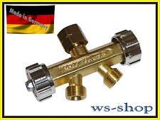Abzweigventil; 2-Wege Ventil (Verteiler) für Brenngas (Acetylen, Propan)