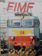 Bollettino treni FIMF n°238 Ferrovia del fiume RENO  [TR.33]