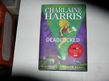 Deadlocked: A Sookie Stackhouse Novel by Charlaine Harris (2012) SIGNED 1st/1st