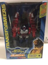 Transformers Beast Machines PRIMAL PRIME Electronic Optimus 2000 MISB Sealed