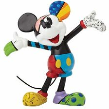 Disney by Romero Britto Mickey Mouse Mini Figurine Ornament 8cm 4049372