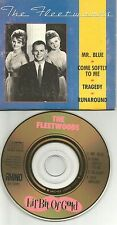 THE FLEETWOODS Lil Bit of 4TRX LIMITED 1988 MINI 3 INCH CD single GOLD DISC CD3