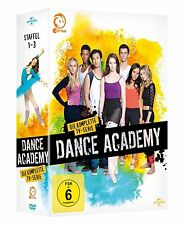 DANCE ACADEMY - COMPLETE SEASON 1 2 & 3 BOX  -  DVD - PAL Region 2 - Sealed