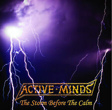 """ACTIVE MINDS - """"The Storm Before The Calm"""" 7"""" EP. UK political punk"""