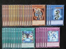 YU-GI-OH 40 CARD BLACK LUSTER SOLDIER DECK  *READY TO PLAY*