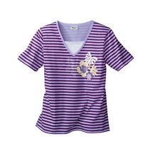 Attraktives T-Shirt in modischer Doppeloptik  Gr.40/42