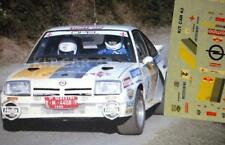 DECAL CALCA 1/43 OPEL MANTA 400 B. FERNANDEZ RALLY SAN FROILAN 1985