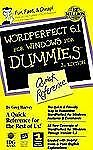 Wordperfect 6.1 for Windows for Dummies Quick Reference