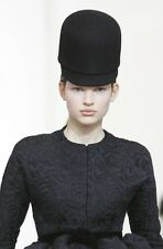 BALENCIAGA Fall 2006 RUNWAY Iconic Rabbit Wool Felt RIDING HAT Size 55 6 7/8 NWT