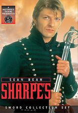 5 DVD Sharpe's The Sword Collection Set: Sean Bean Hugh Fraser Daragh O'Malley
