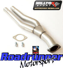 Milltek Audi RS3 8P Primary De Cat By Pass Pipe Exhaust Stainless Twin Outlet