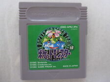 Game Boy Pokemon Green Pocket Monsters Midori. New Save Battery Japanese Version