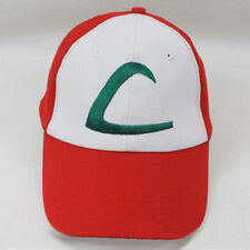 Cálido Cartoon Gorra Béisbol Bolsillo Monster Pokemon Ash Ketchum Ajustable