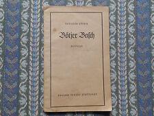 """Theodor Storm """"Bötjer Basch"""" Novelle"""