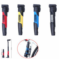 Mini Portable Bike Bicycle Cycling Inflator Inflating Air Pump Tyre Tire Ball