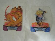 2 CARTE CARD BONUS  CARDS LAMINACARDS EDIBAS DRAGON BALL  GT-BACKSTAGE 2008