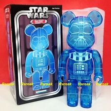 Medicom 2015 Be@rbrick Star Wars 400% Darth Vader Holographic clear bearbrick 1p