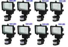 8Pack 100 SMD LEDs Solar Powered Motion Sensor Security Light Flood 16 22 60 80