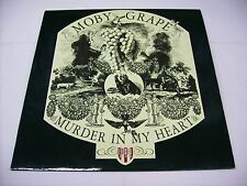 MOBY GRAPE - MURDER IN MY HEART - REISSUE LP VINYL 1986